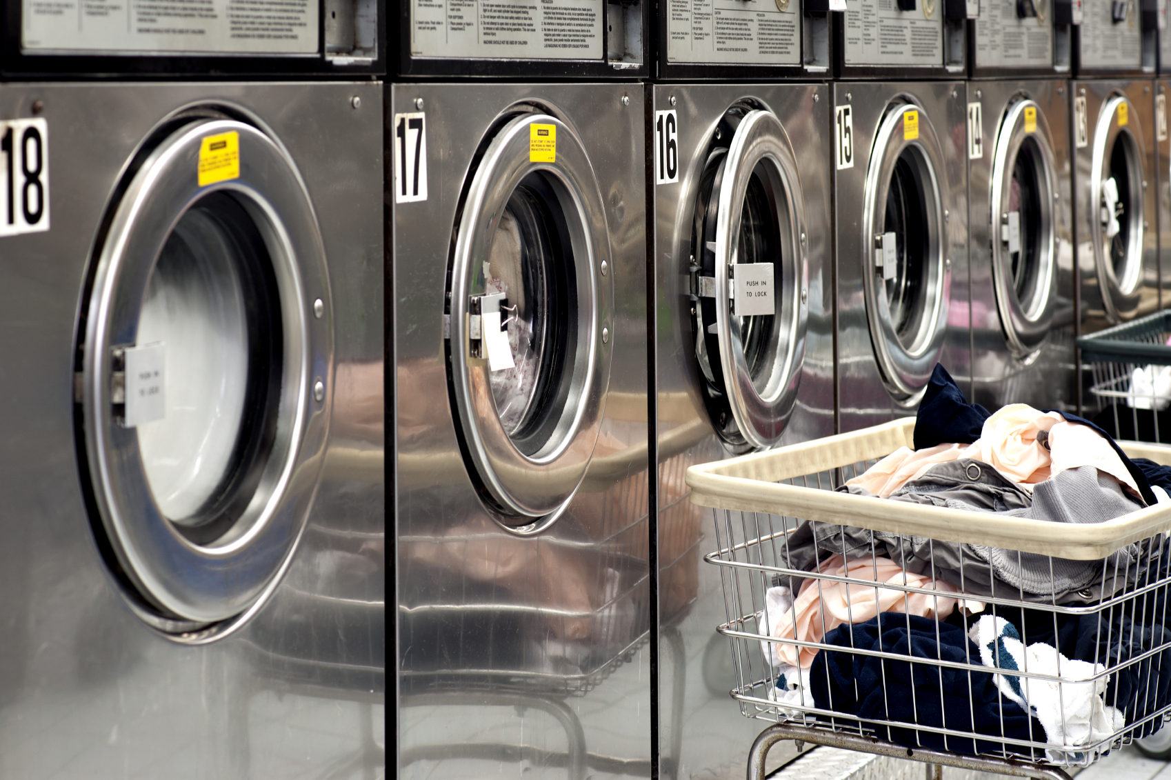 Coin Operated Vs Card Operated Commercial Laundry Equipment