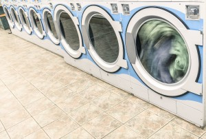 Coin-Operated Washing Machines