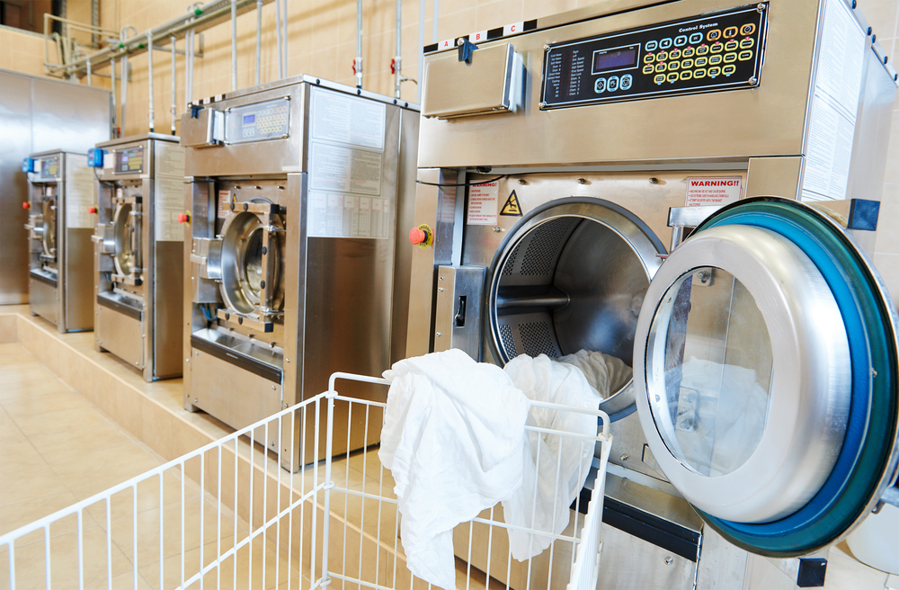 Industrial Washing Machines : Commercial and industrial laundry equipment sales