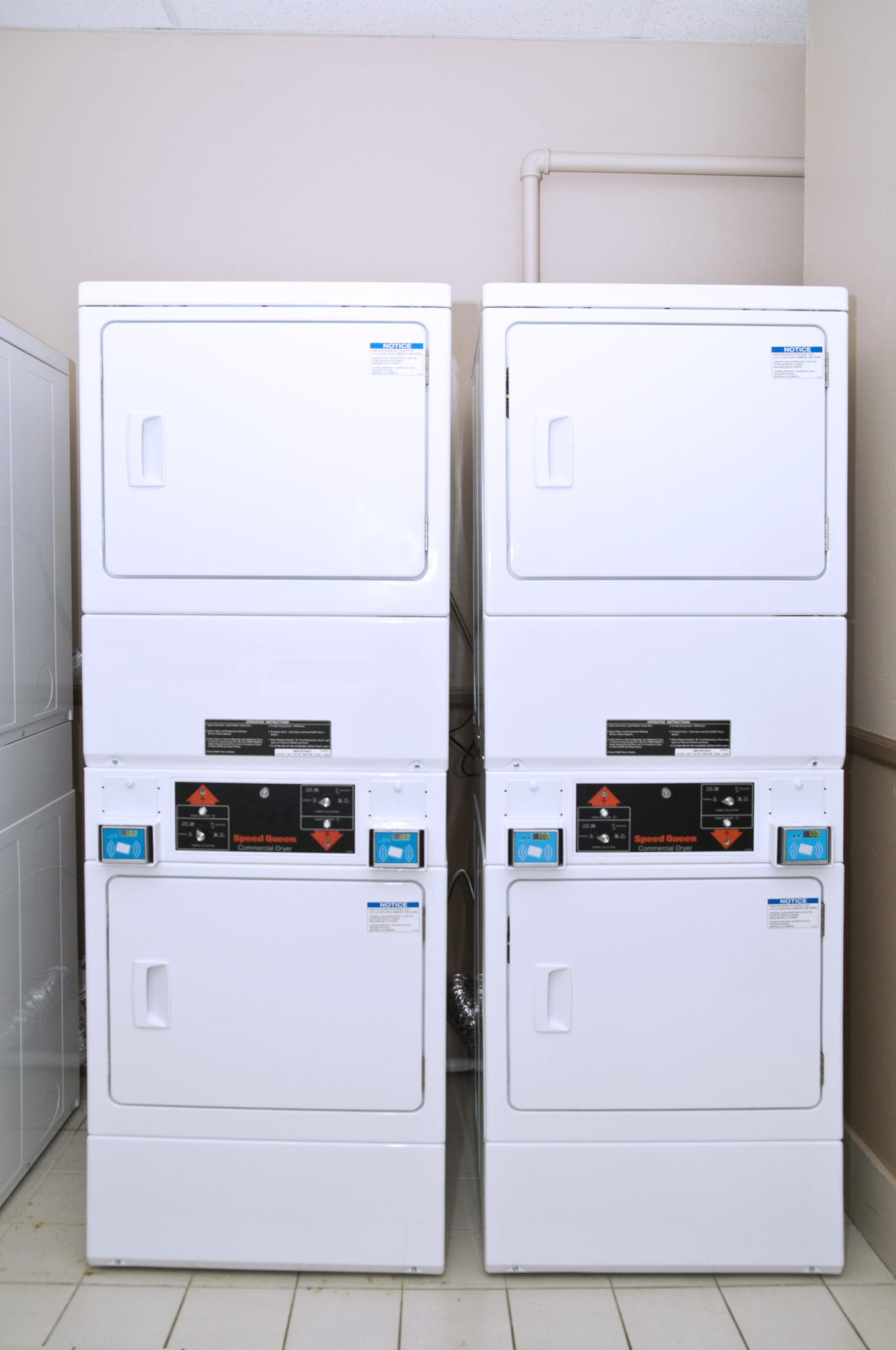 Stackable Commercial Washers And Dryers
