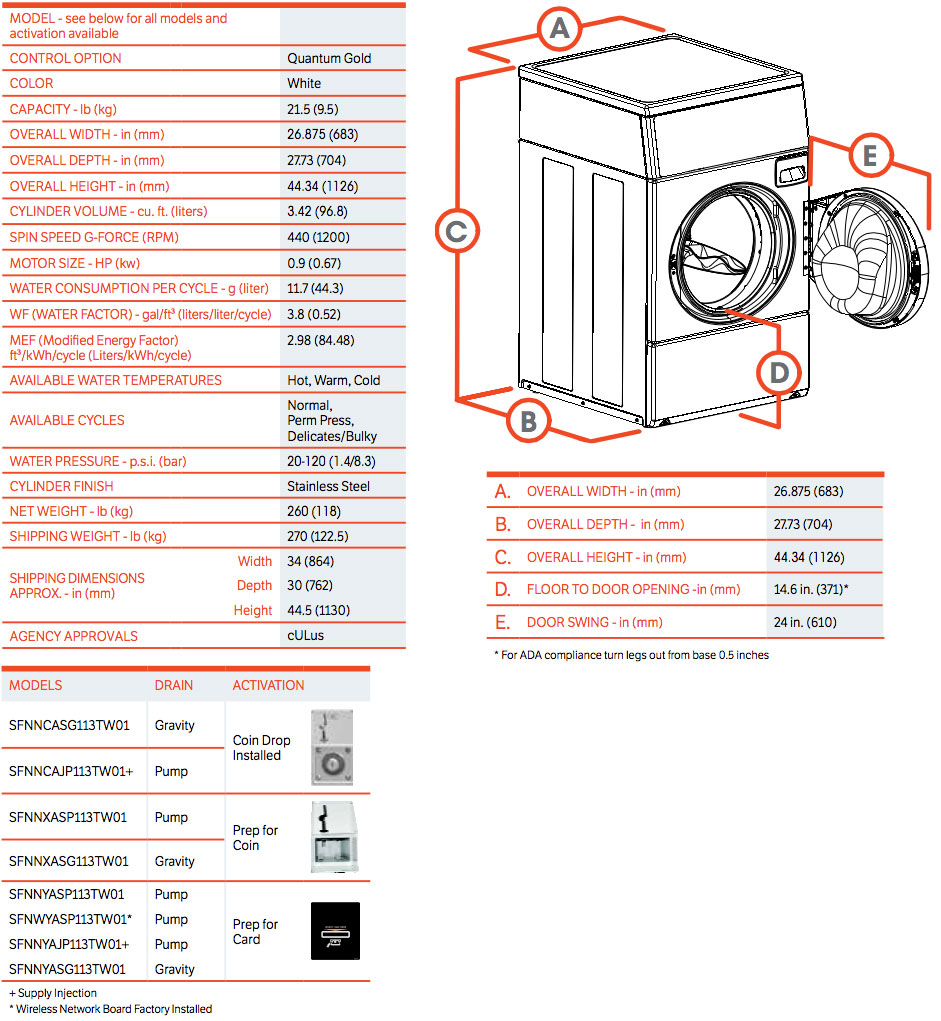Commercial-Front-Control-Front-Load-Washer
