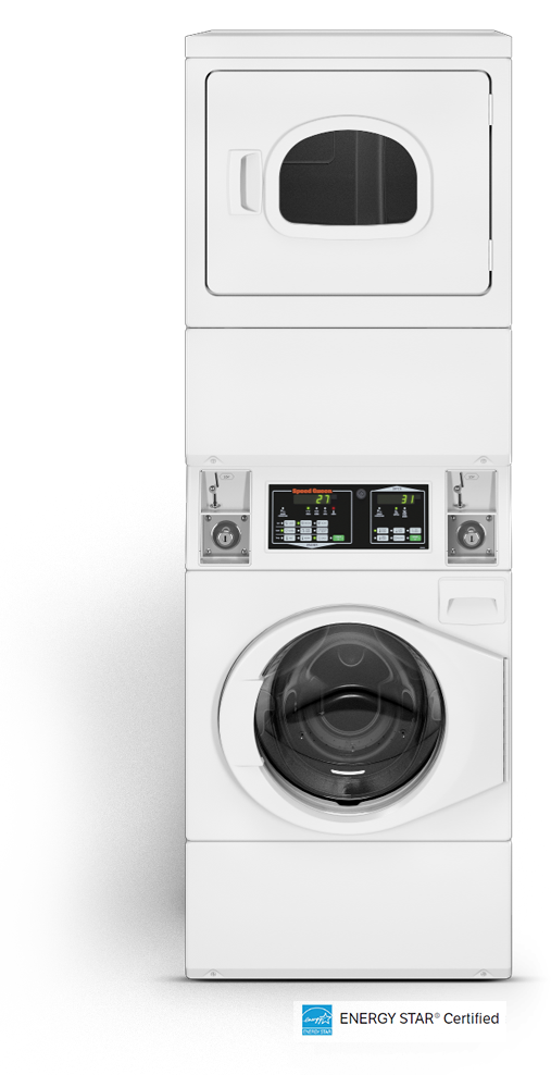 Commercial Stack Washer Dryer