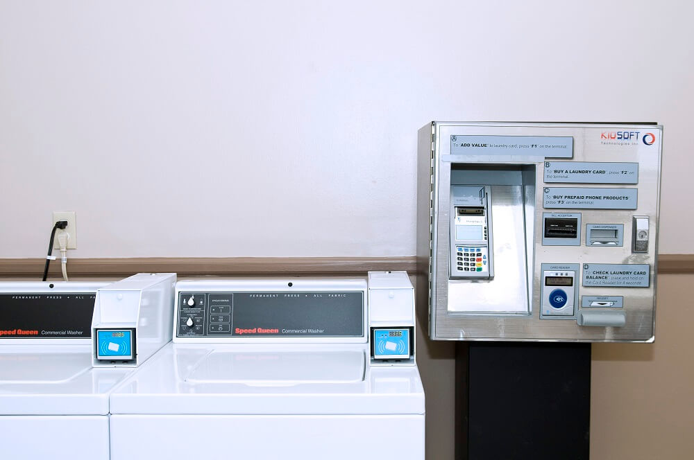 credit card washing machine