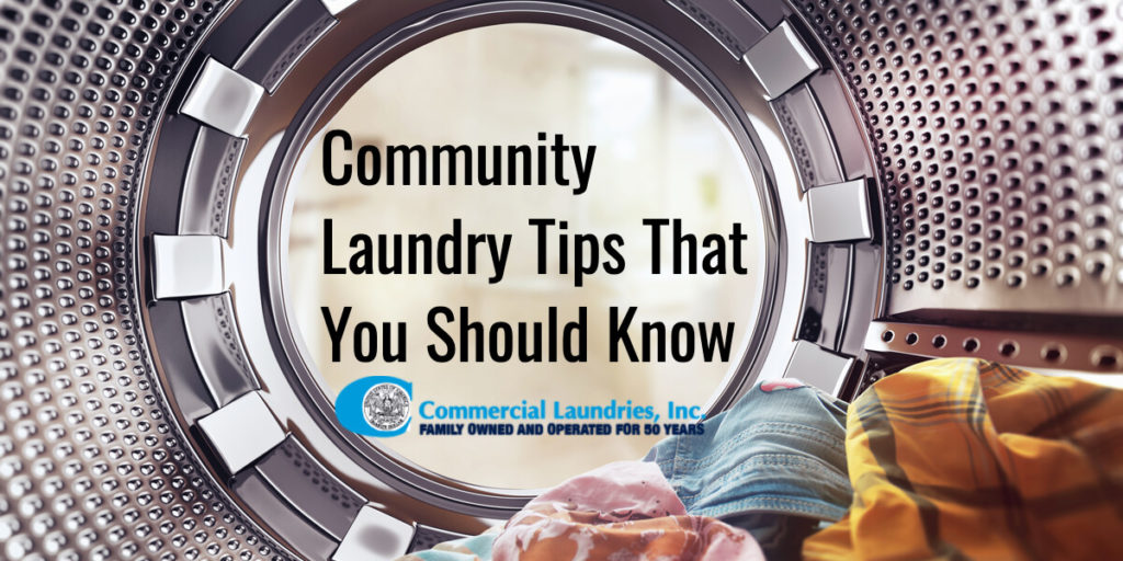 Community Laundry Tips That You Should Know _ CommericalLaundries.com