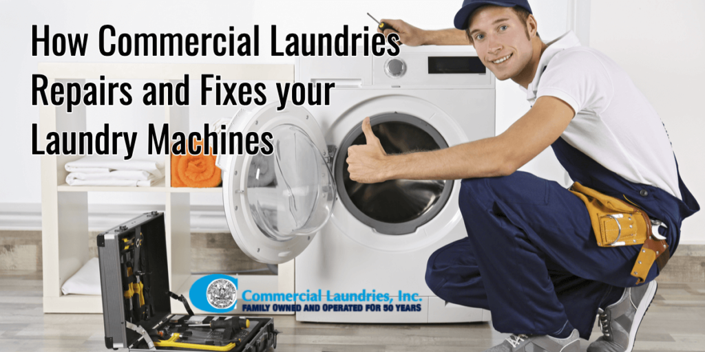 How Commercial Laundries Repair and Fixes your Laundry Machines | CommercialLaundries.com