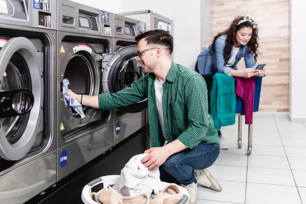 repair commercial laundry machines