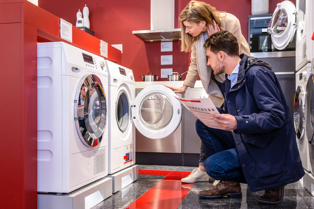 buying commercial washers and dryers
